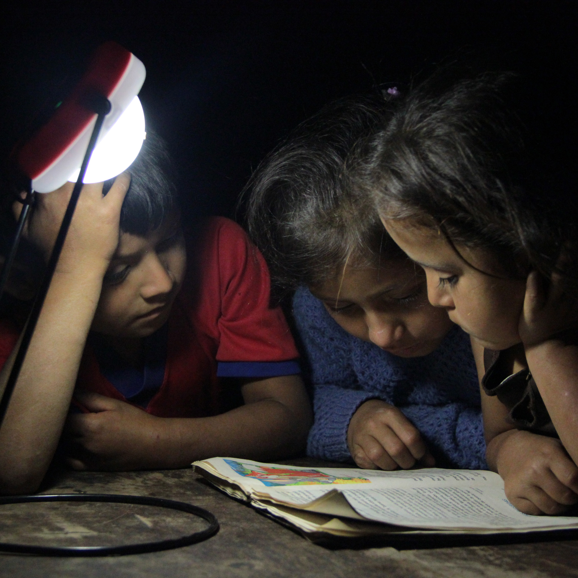 Kids reading - dimensiones ajustados